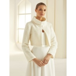 Veste en laine pour mariée