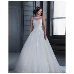 robe de mariée princesse en tulle fréjus