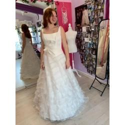 Robe de mariée décolleté carré