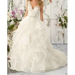 robe de mariée princesse volutes