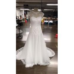 robe de mariée bohème buste taille basse