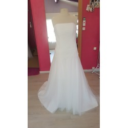 robe de mariée épurée