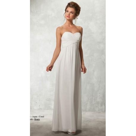 robe de mariée bustier sans traine