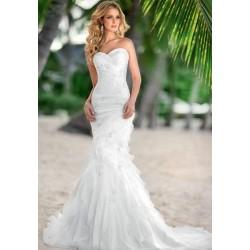veritable robe de mariée sirène