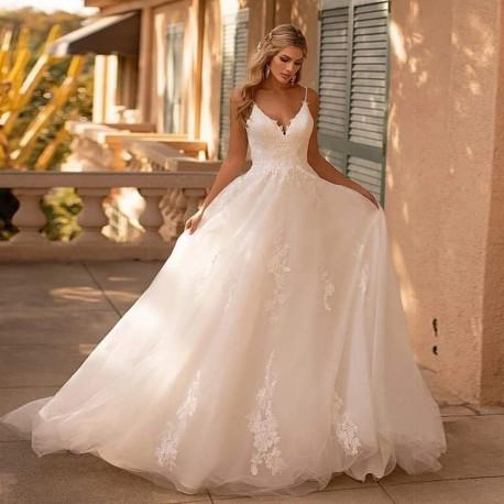 Robe de marie princesse glamour