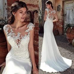 Robe de mariée sirène sexy chic