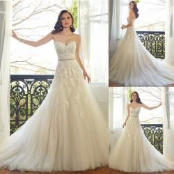 robe de mariée bohème ceinture
