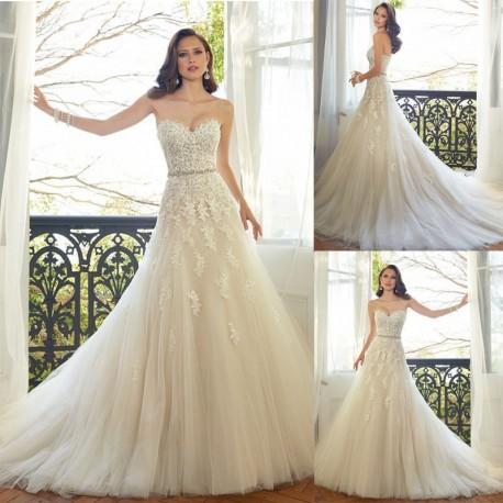 robe de mariée bohème beige ivoire