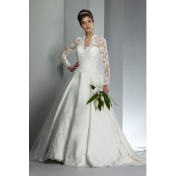 Robe de mariée type english