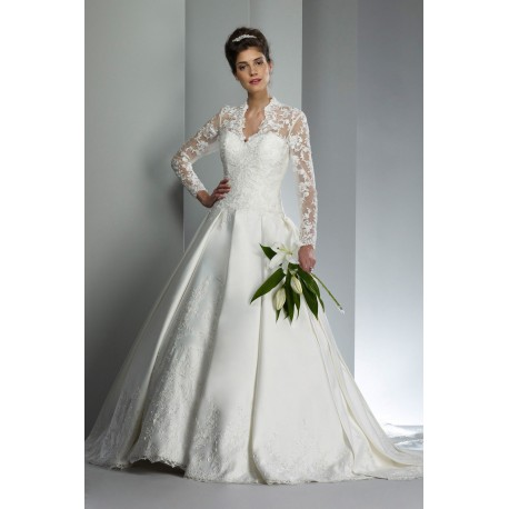 Robe de mariée type english