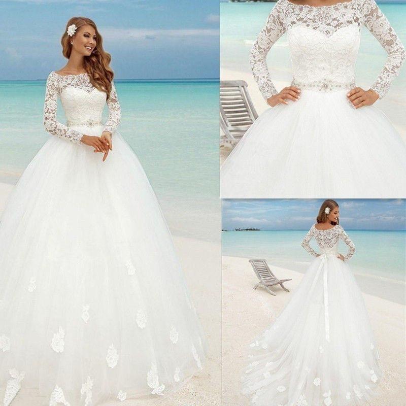 robe de mariée princesse buste et manches