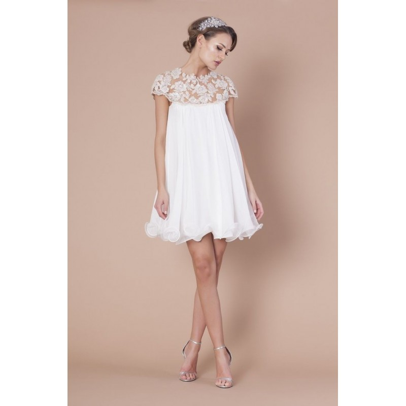 robe de mariée courte vintage