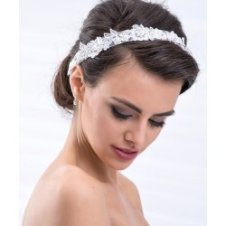 headband dentelle en destockage