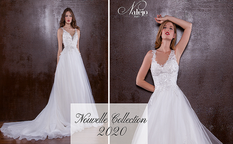 Collection robes de mariées Nalejo 2020